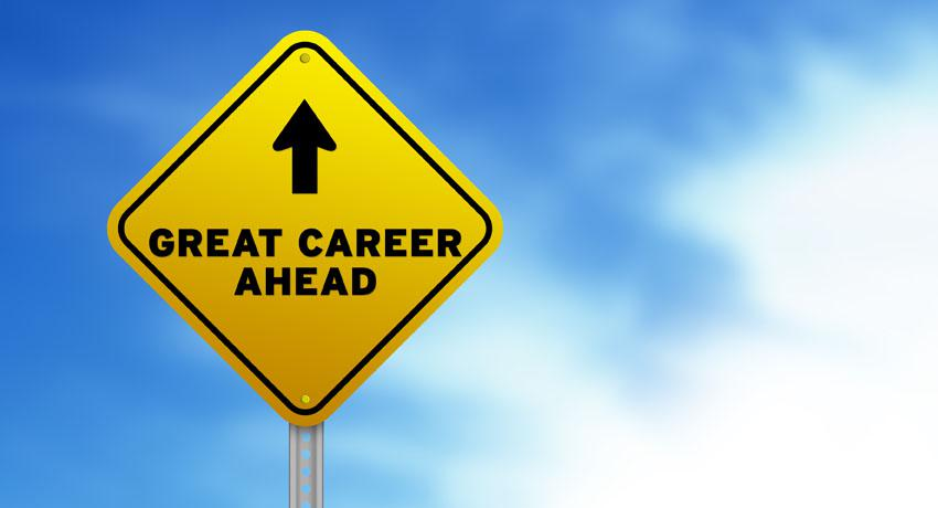 Great Careers road sign