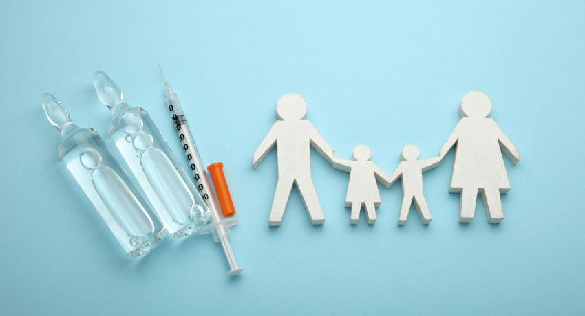 Image representing vaccinations for children, youth, families